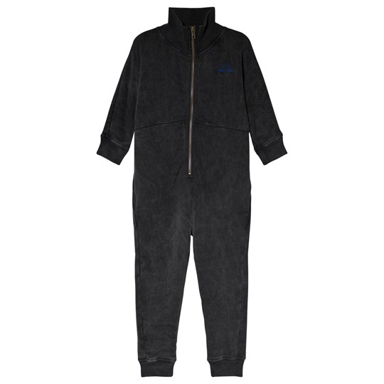 Bobo Choses The Happy Sads Fleece Overall Dark GRey Negro