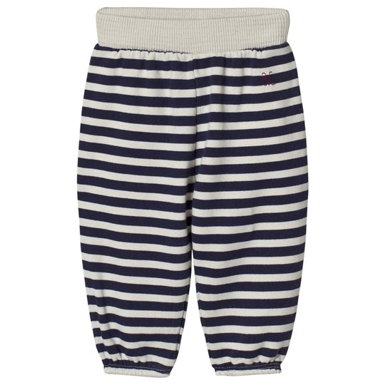 Bobo Choses B.C. Horizontal Stripes Pants Egret Egret
