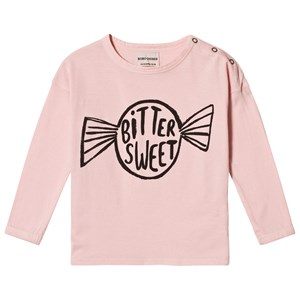 Image of Bobo Choses Bitter Sweet Round Neck T-Shirt Mellow Rose 6-12 mdr (3056108251)