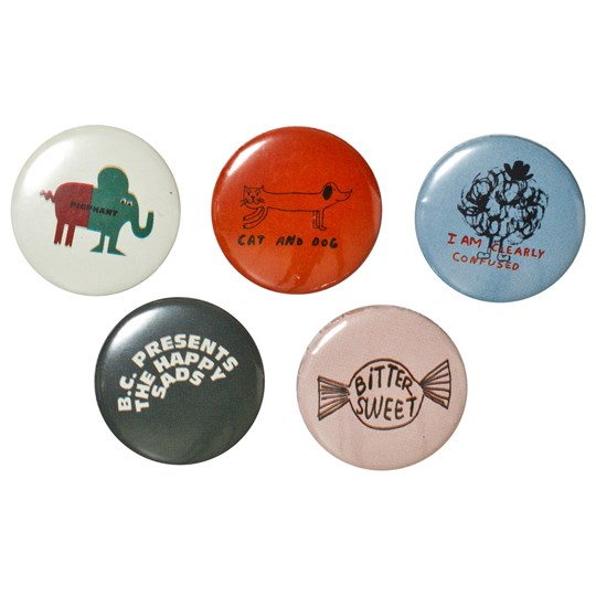 Bobo Choses 5-Pack Pins NONE