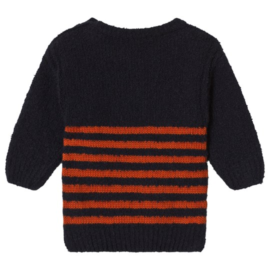 c40cf541f Bobo Choses - Striped Sweater Medieval Blue - Babyshop.com