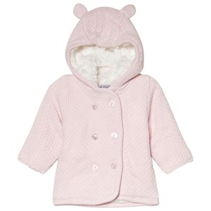 Image of Absorba Pale Pink Hooded Cardigan with Ears 12 months (3056071291)