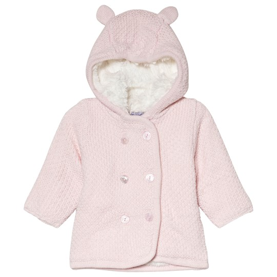 Absorba Pale Pink Hooded Cardigan with Ears 30
