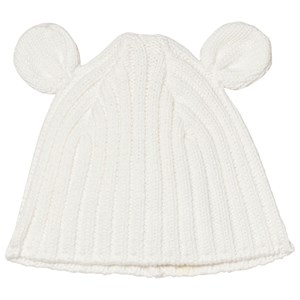 Image of Absorba Cream Knit Eared Hat 35 (Prem-Newborn) (3056071483)