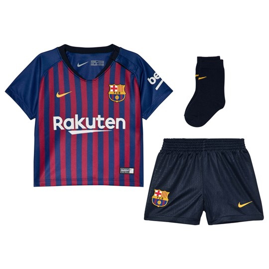 Barcelona FC Barcelona FC and Nike comes the Blue Breathe FC Barcelona Home Infants Kit 456