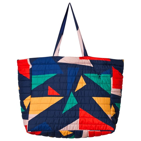 Bobo Choses Geometric Tote Bag Medieval Blue Medieval Blue