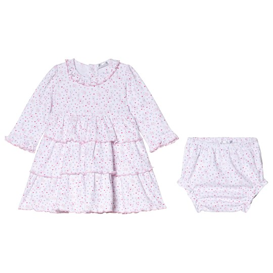 Kissy Kissy Pink Queen od Castle Floral Print Ruffle Dress and Bloomers Set PINK QUEEN OF THE CASTLE