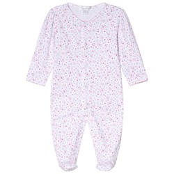Kissy Kissy Pink Queen of the Castle Floral Print Footed Baby Body