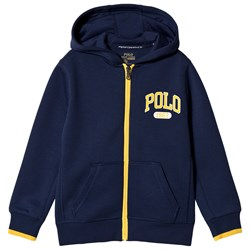 Ralph Lauren Navy Tech Fleece Polo Hoodie