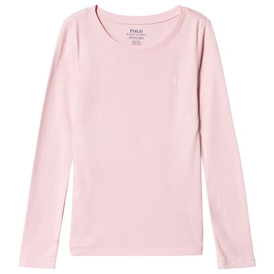 Ralph Lauren Pink Long Sleeve Tee with PP 012