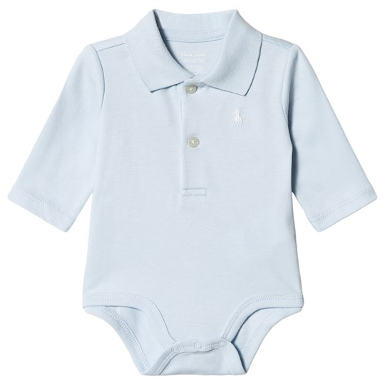 Ralph Lauren Blue Jersey Polo Baby Body with PP 003