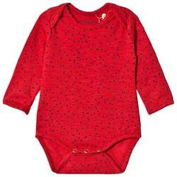 Soft Gallery Bob Baby Body Mini Dots Mars Red