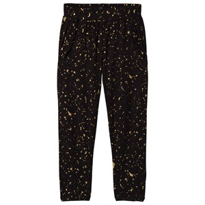 Soft Gallery Lucy Pants Flakes Gold Jet Black 7 years