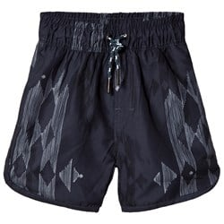 Soft Gallery Oliver Swim Trunks Native India Ink
