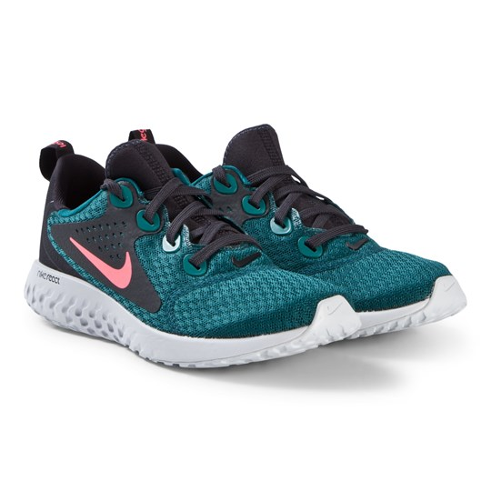 new products 53795 292f1 Blue Nike Rebel React Running Trainers