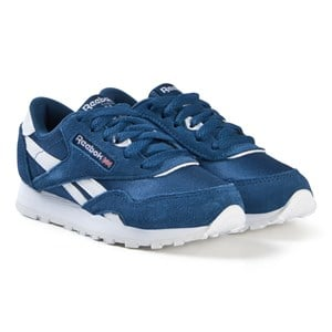 Image of Reebok Blue Classic Sneakers 36 (UK 4) (3056114375)