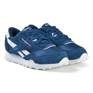 Image of Reebok Blue Classic Sneakers 35 (UK 3.5) (3056114373)
