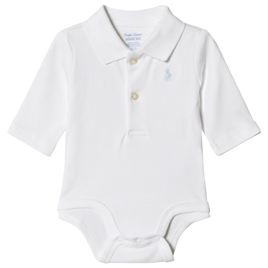 Ralph Lauren White Jersey Polo Body with PP 001