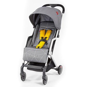 Image of Diono Traverze Stroller Grey Linear (3056095449)