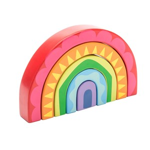Image of Le Toy Van Petilou Rainbow Tunnel Toy 12 mdr. - 3 år (3143207645)