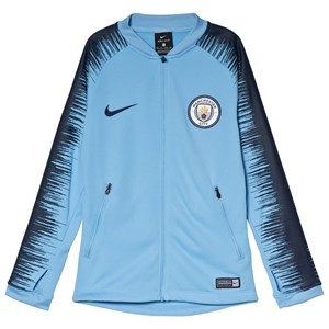 Image of Manchester City FC Blue Manchester City FC Football Jacket XS (6-8 years) (3056110547)