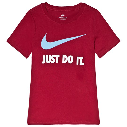NIKE Red Just Do It Swoosh Tee 618