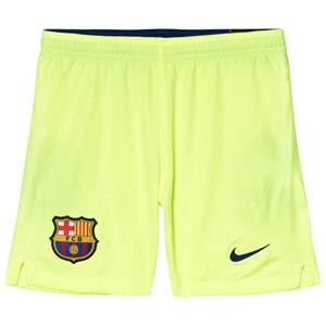 Image of Barcelona FC Yellow Breath FC Barcelona Stadium Away Football Shorts L (12-13 years) (3056110507)