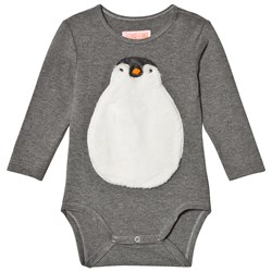 BANGBANG Copenhagen Grey Baby Body with Penguin
