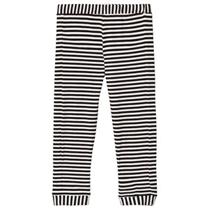 Image of BANGBANG Copenhagen Black and White Striped Pants 3-6 months (1107404)