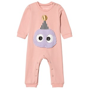 Image of BANGBANG Copenhagen Baby Pink One-Piece with Face 12-18 months (3056069073)