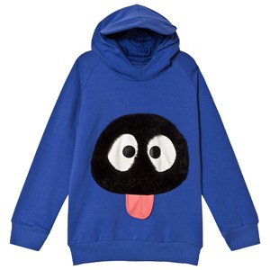 Image of BANGBANG Copenhagen Blue Hoodie with Face 7-8 years (3056069657)