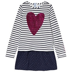 Joules Navy Lucy Sweat Dress