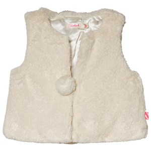 Image of Billieblush Cream and Gold Faux Faur Gilet 12 months (3056074403)
