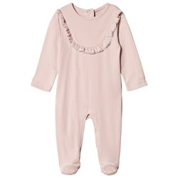 Livly Elsa Footed Baby Body Mauve Rose
