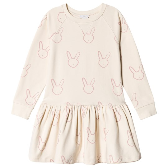 Livly Sweatshirt Dress Cream/Lavender Bunny Cream/Lavender Bunny
