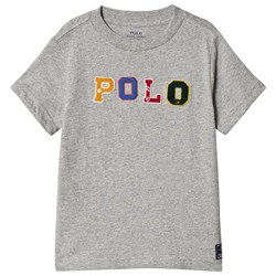 Ralph Lauren Grey Polo Applique Tee