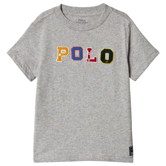 Ralph Lauren Grey Polo Applique Tee 002