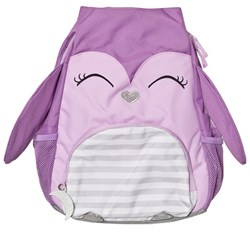 Lands' End Purple Owl Kids Critters Backpack