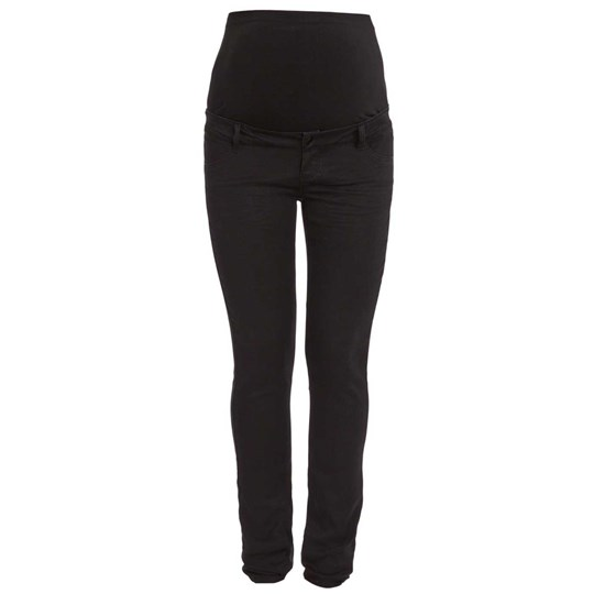 Mamalicious Vita Denim Jeggings Black Black