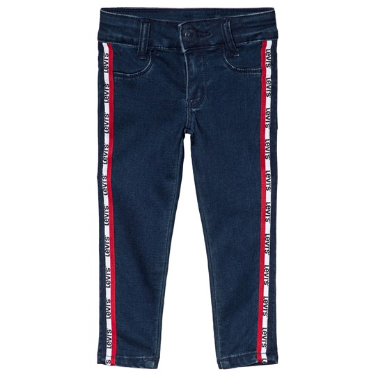 Levis Kids Blue 710 Super Skinny Logo Tape Jeans 46