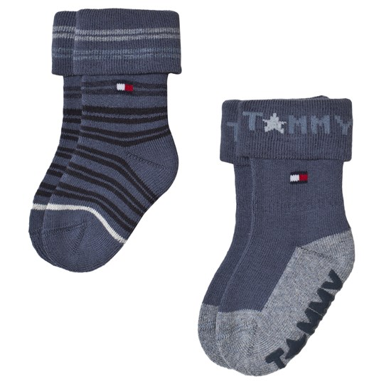 Tommy Hilfiger Midnight Blue Abs Sock 2-Pack Midnight Blue