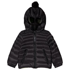 Image of AI Riders on the Storm Black Down Goggle Hood Coat 16 years (3056086769)