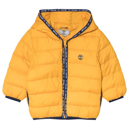 Timberland Lightweight Hooded Packaway Jacka Mustard 511
