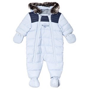 Image of Timberland Pale Blue Snowsuit 1 month (3056077085)