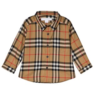 Image of Burberry Antique Check Fred Long Sleeve Shirt 18 months (3056066609)