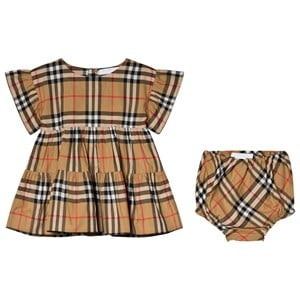Image of Burberry Antique Check Alima Dress 12 months (3056066669)