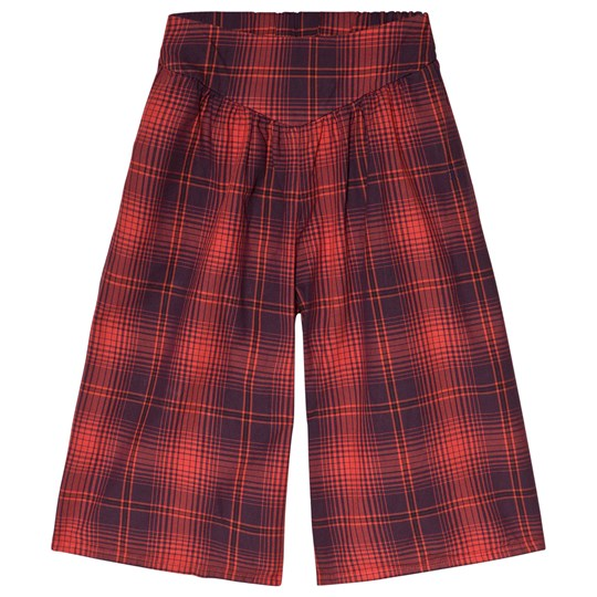 Bobo Choses Tartan Culottes Red Clay Red Clay