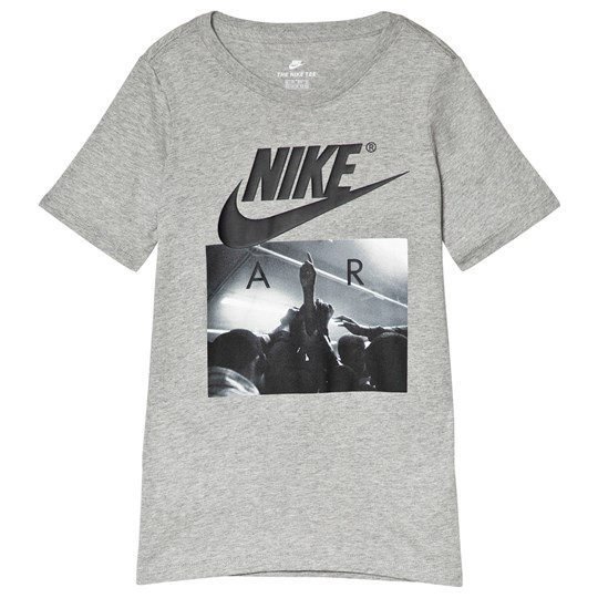 NIKE Grey Air Huddle Sportswear Tee 063