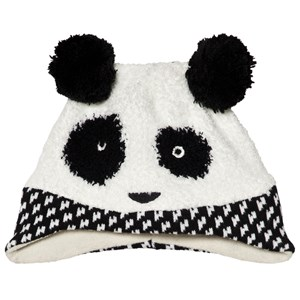 Image of Catimini Black Panda Knit Beanie 46cm (12-18 months) (3056083917)