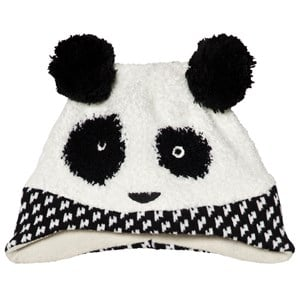 Image of Catimini Black Panda Knit Beanie 44cm (6-9 months) (3056083915)